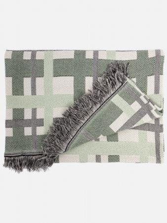 Filipa - Decke - Grün-Bunt
